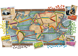 Ticket to Ride Rails & Sails-Board Games-Athena Games Ltd