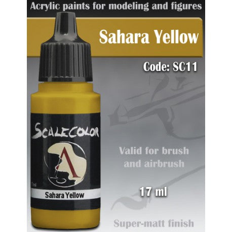 Scale75 Scalecolor Paint Range - Sahara Yellow