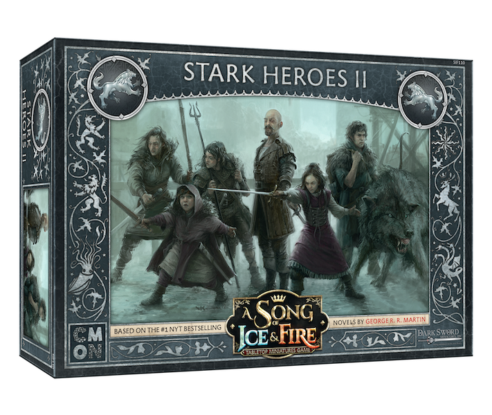 A Song of Ice & Fire: Stark Heroes #2 Expansion
