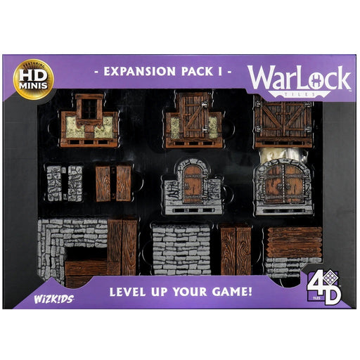 WarLock Tiles: Expansion Pack I-Wizkids-Athena Games Ltd