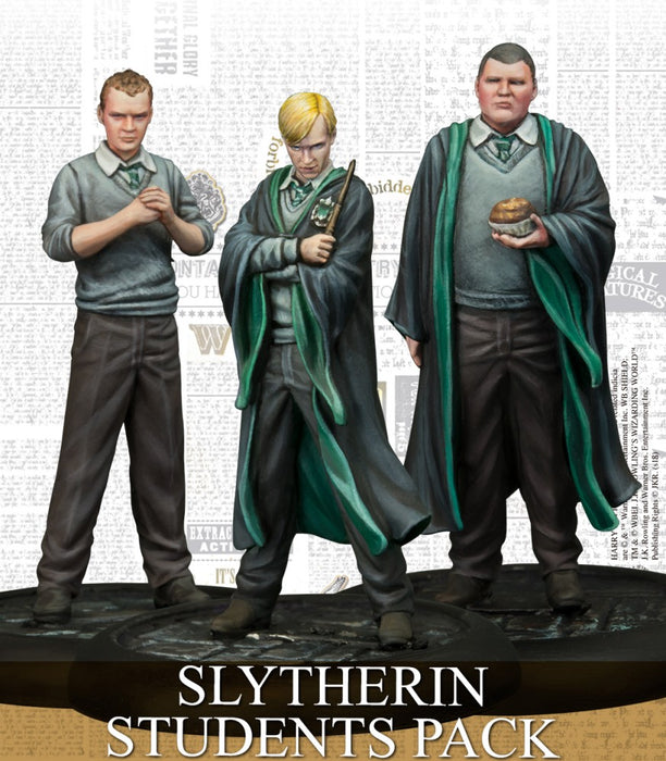 Slytherin Students - Harry Potter Miniature Game