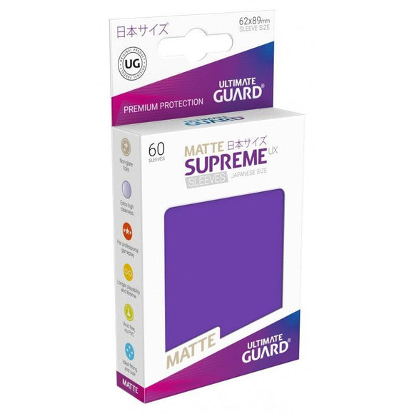 Ultimate Guard Supreme UX Sleeves Japanese Size Matte Purple (60)
