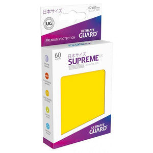 Ultimate Guard Supreme UX Sleeves Japanese Size Yellow (60)