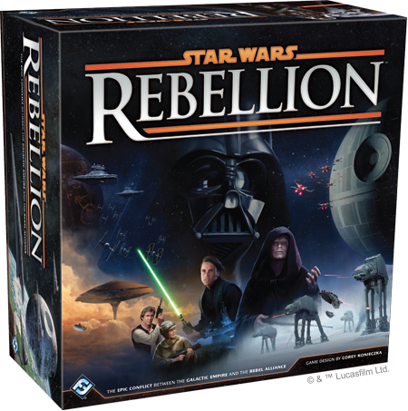 Star Wars: Rebellion-Board Games-Athena Games Ltd