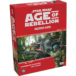Star Wars Age of Rebellion Beginner Game-Fantasy Flight Games-Athena Games Ltd