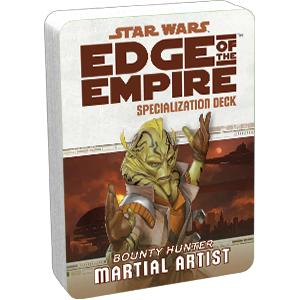 Star Wars Edge of the Empire Martial Artist Specialization Deck