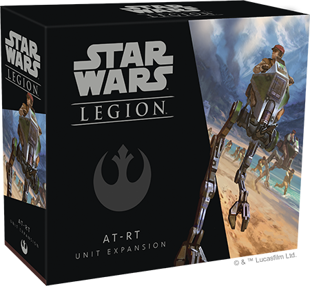 Star Wars Legion AT-RT Packaging