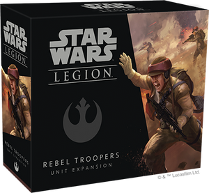 Star Wars Legion Rebel Troopers Packaging