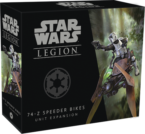 Star Wars Legion 74-Z Speeder Bikes Packaging