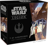 Star Wars Legion T-47 Airspeeder Packaging