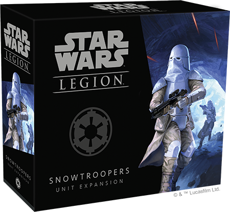 Star Wars Legion Snowtroopers Packaging
