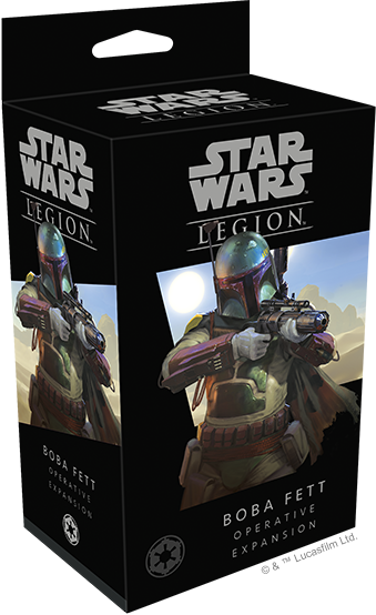 Star Wars Legion Boba Fett Operative Packaging