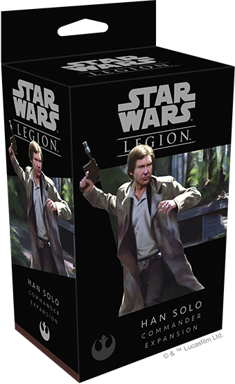 Star Wars Legion Han Solo Packaging
