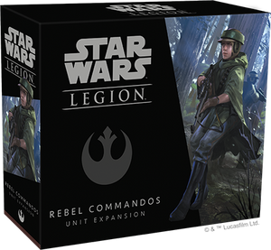 Star Wars Legion Rebel Commandos Packaging