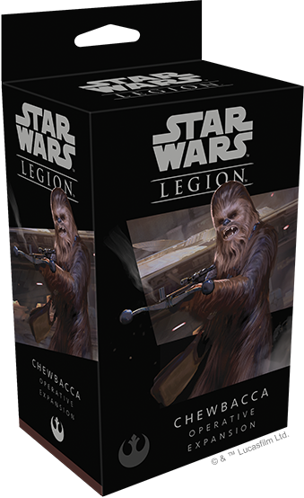 Star Wars Legion Chewbacca Operative Packaging