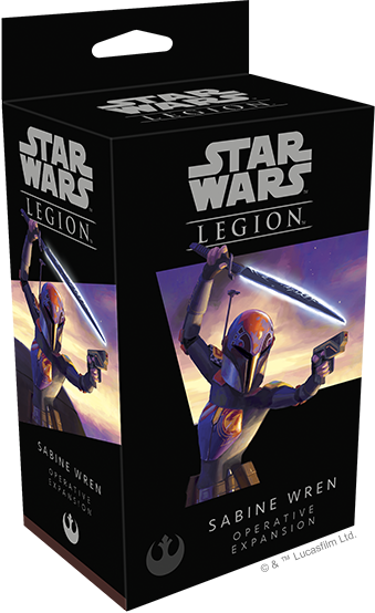 Star Wars Legion Sabine Wren Operative Expansion Box