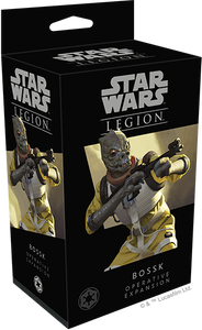 Star Wars Legion Bossk Operative Expansion Box