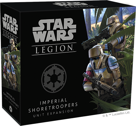 Star Wars Legion Imperial Shoretroopers Unit Expansion Box