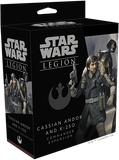 Star Wars Legion Cassian Andor and K-2SO Commander Expansion Box