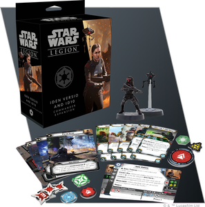 Star Wars Legion Iden Versio and ID10 Commander Expansion Contents Assembled and Painted