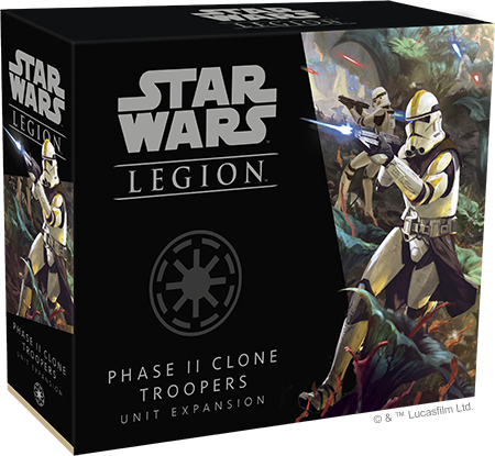 Star Wars Legion Phase II Clone Troopers Unit Expansion Box