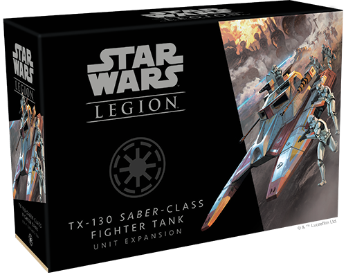 Star Wars Legion TX-130 Saber Class Fighter Tank Unit Expansion Box