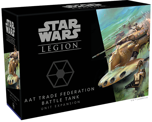 Star Wars Legion AAT Trade Federation Battle Tank Unit Expansion Box