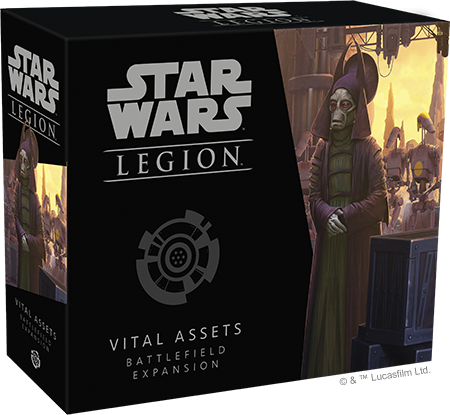 Star Wars Legion Vital Assets Battlefield Expansion Box