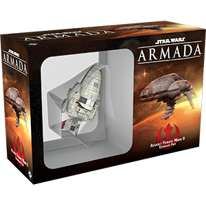 Star Wars Armada Assault Frigate Mark II Expansion Pack - Packaging