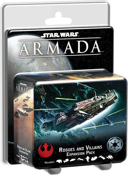 Star Wars Armada Rogues and Villains Expansion Pack - Packaging