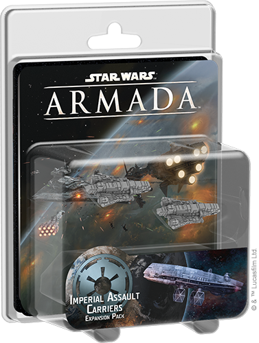 Imperial Assault Carriers Expansion Pack - Star Wars Armada-Fantasy Flight Games-Athena Games Ltd