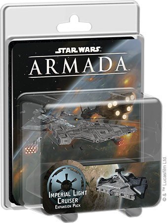 Imperial Light Cruiser Expansion Pack - Star Wars Armada-Fantasy Flight Games-Athena Games Ltd