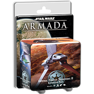 Star Wars Armada Imperial Fighter Squadrons II Expansion Pack - Packaging