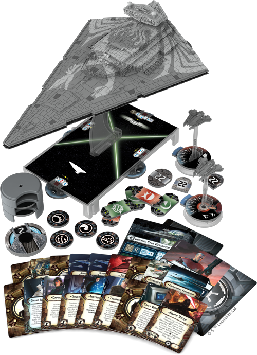 Star Wars Armada Chimaera Expansion - Product Spread