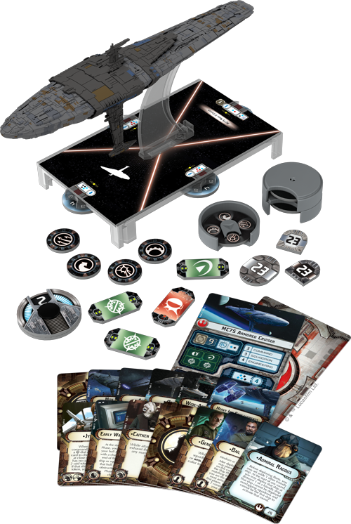 Star Wars Armada Profundity Expansion - Product Spread