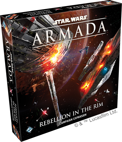 Rebellion in the Rim Campaign Expansion - Star Wars Armada-Fantasy Flight Games-Athena Games Ltd