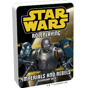 Star Wars Roleplaying Game Imperials and Rebels III Adversary Deck-Fantasy Flight Games-Athena Games Ltd