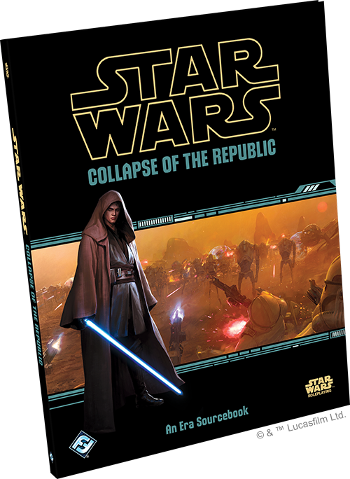 Collapse of the Republic - Star Wars Roleplay-Fantasy Flight Games-Athena Games Ltd