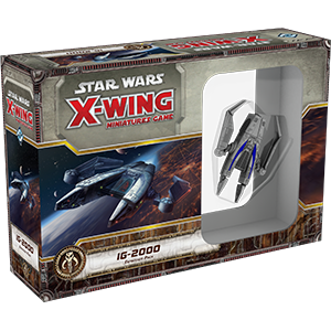 Star Wars X-Wing IG-2000 Expansion Pack 1st Edition