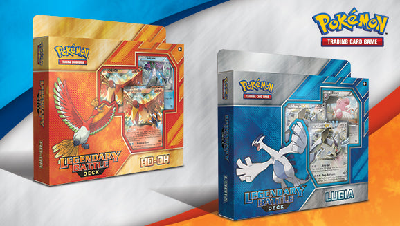 Pokemon Legendary Battle Deck Ho-Oh and Lugia