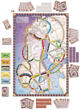 Ticket to Ride Nordic Countries - Game Set Up