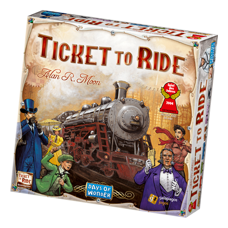 Ticket to Ride-Board Games-Athena Games Ltd