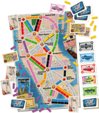 Ticket To Ride: New York Board Layout