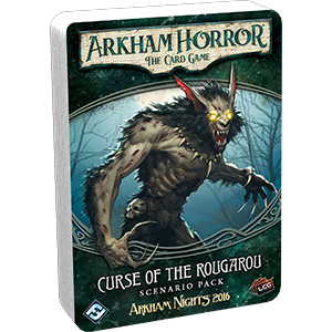 Curse of the Rougarou: Arkham Horror Living Card Game Scenario Pack Expansion