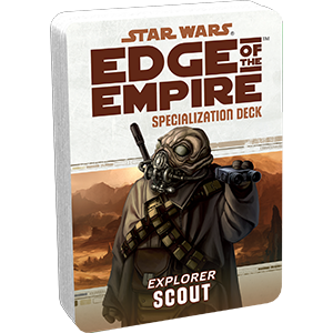 Star Wars Age of Rebellion Scout Specialization Deck