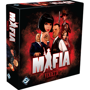 Mafia Vendetta-Board Games-Athena Games Ltd