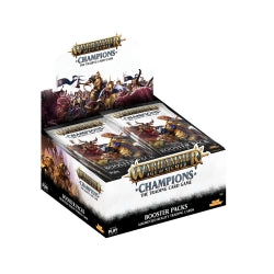 Age of Sigmar Warhammer Champions Booster Box