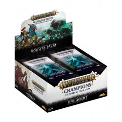 Age of Sigmar Warhammer Champions Onslaught Booster Box