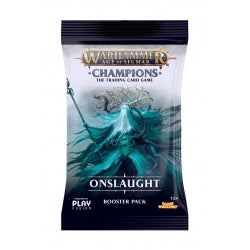 Age of Sigmar Warhammer Champions Onslaught Booster Pack