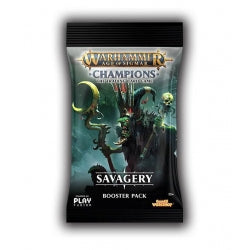 Age of Sigmar Champions Savagery Booster Pack
